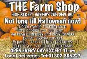Barnby Dun Farm Shop_Halloween