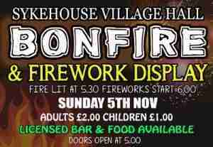 Sykehouse_Bonfire and fireworks
