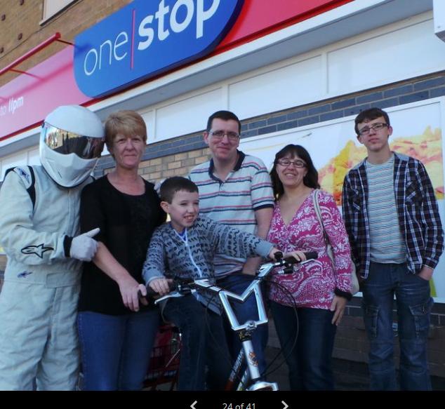 Over £500 raised for Jack's Bike