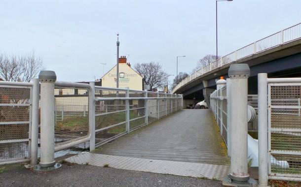 Canal Footbridge Back In Use