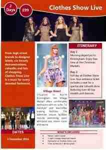 Clothes Show Live 2016