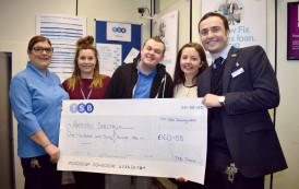 Charity Banks Fundraising Cheque