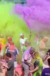 Paint powder festival