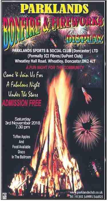 Parklands_Bonfire & Fireworks