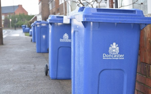 Blue Recycling Bins Delivered