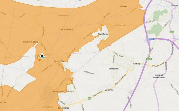 Flood Alert Issued For River Don Lower Catchment