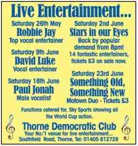 Thorne Democratic Club_June