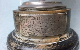 Cricket Trophy Up For Auction
