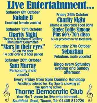 Thorne Democratic Club