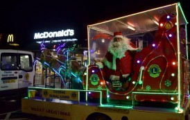 Thorne Rural Lions' Santa and his Sleigh Dates 2018