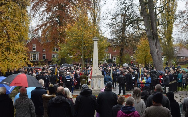Community Remembers The Fallen