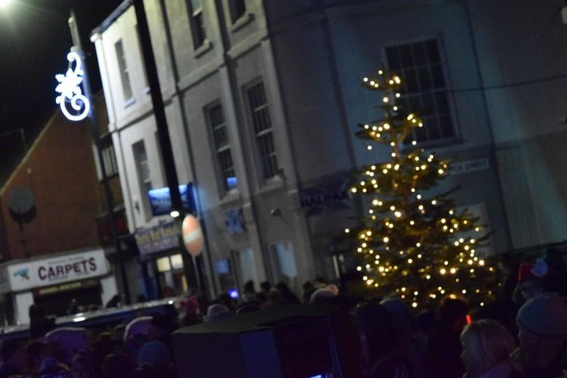 Christmas Lights Switch On To Mark Start Of Festivities