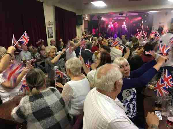 Charity night at Thorne Democratic Club