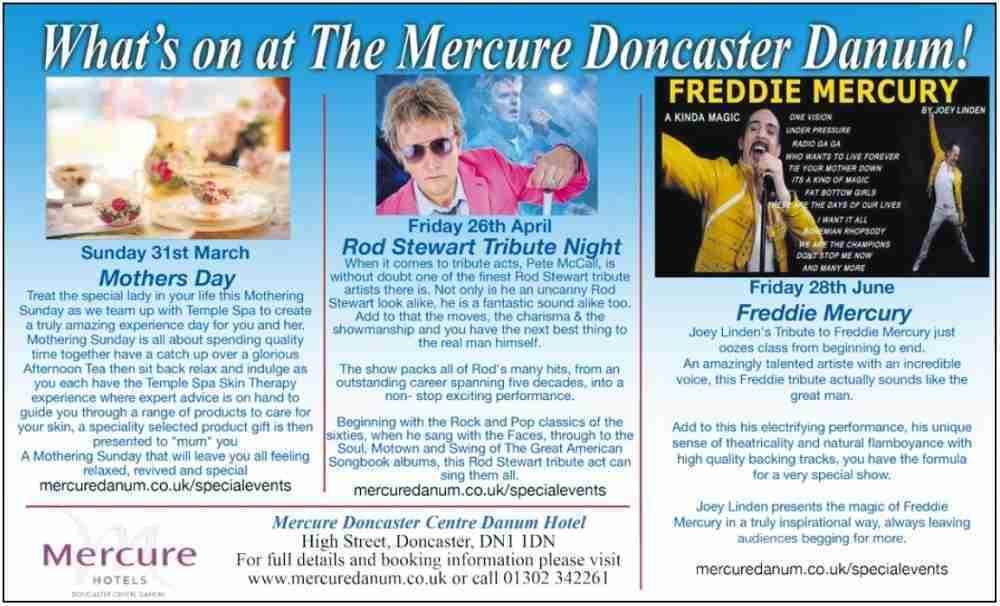 Mecure Doncaster Danum_March