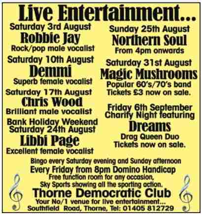Thorne Democratic Club_August 19