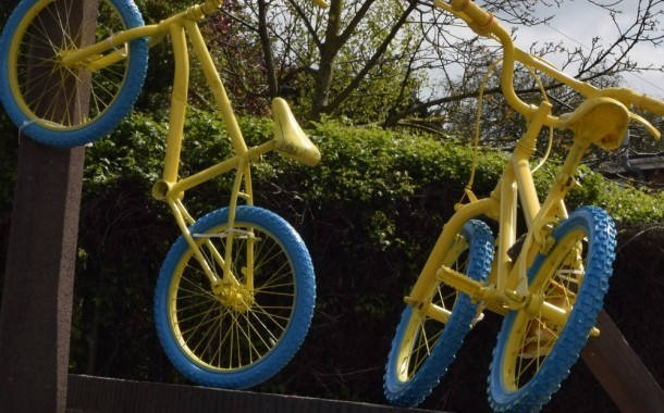 Town Council Runs Cycling Themed 'Best-dressed Property' Competition