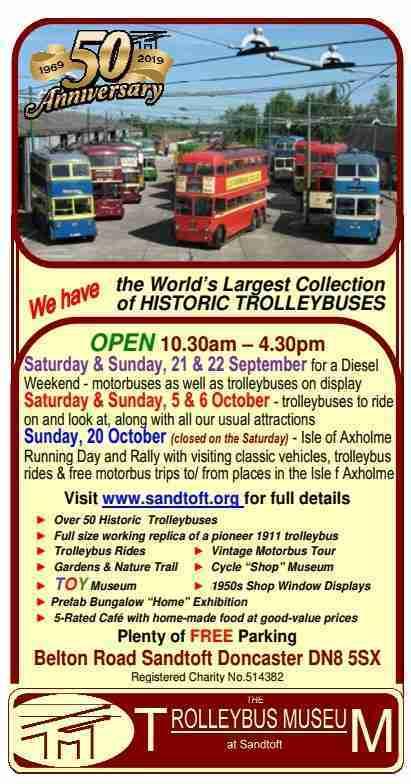 Sandtoft Trolleybus museum_Oct19