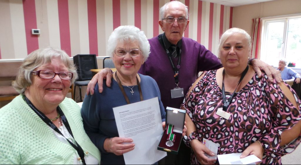 15 years volunteering service awarded