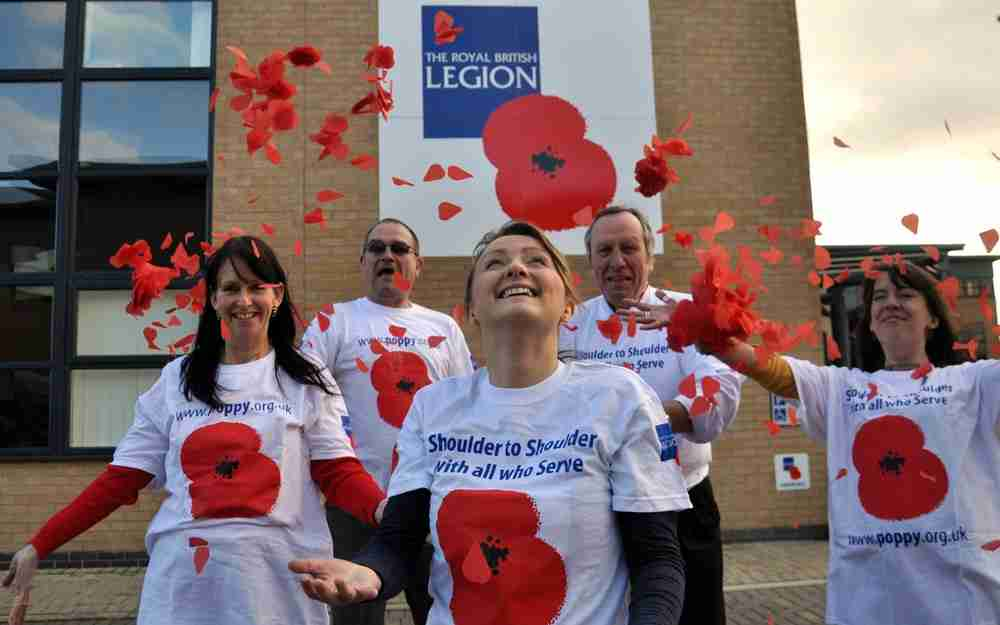 The good work of the Royal British Legion