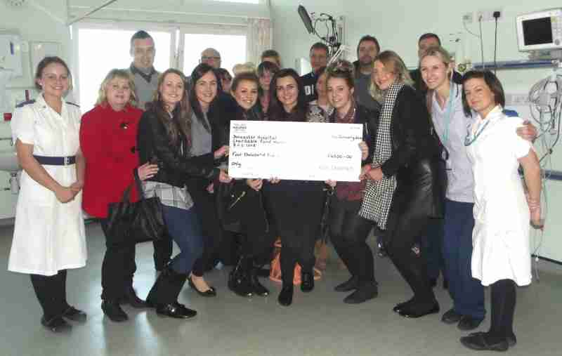 DCC Give Thanks for Donation in Memory of Kim Chapman