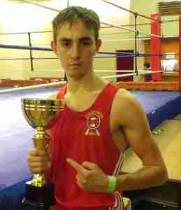 Stainforth ABC's Felix Reilly chosen to box for Yorkshire next season