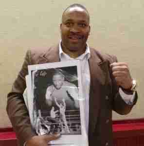 Two times world heavyweight champion Tim Witherspoon
