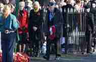 Remembrance Sunday - Town Honours the Fallen