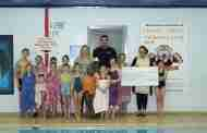 Tigers Swim for Charity