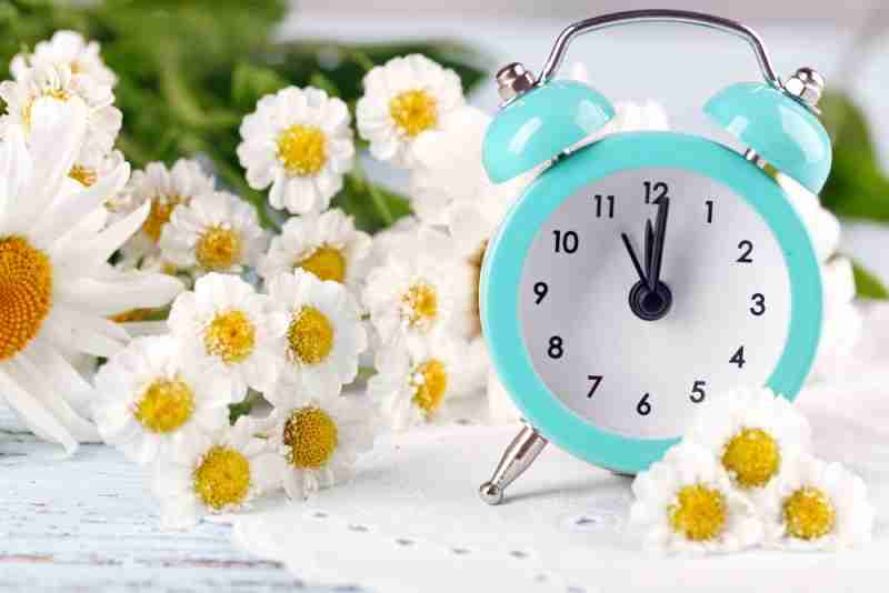 Time To Put Your Clocks Forward