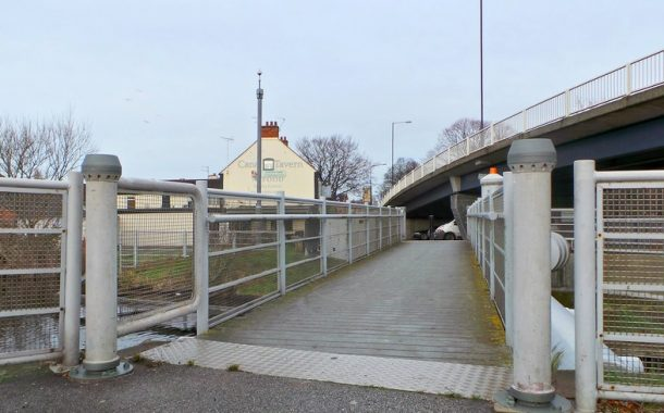 Canal Bridge 'Not Available For Use'