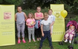 Walkers Raise Money For Cheeky Smiles Fund