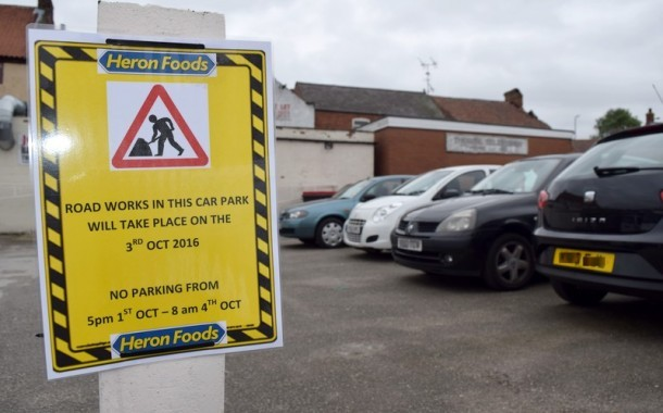 Town Centre Parking To Close For Resurfacing