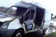 Stolen Van Found Torched In Lay-By