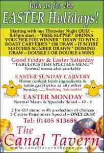 Canal Tavern_Thorne_Easter