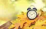 Clocks Go Back This Weekend