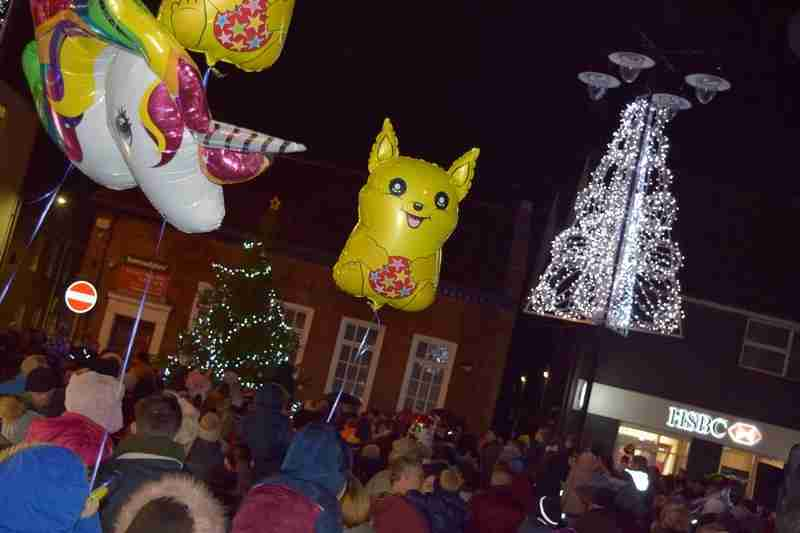 Countdown To Christmas Lights Switch On