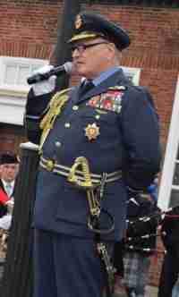 Dennis Turner as Bomber Harris