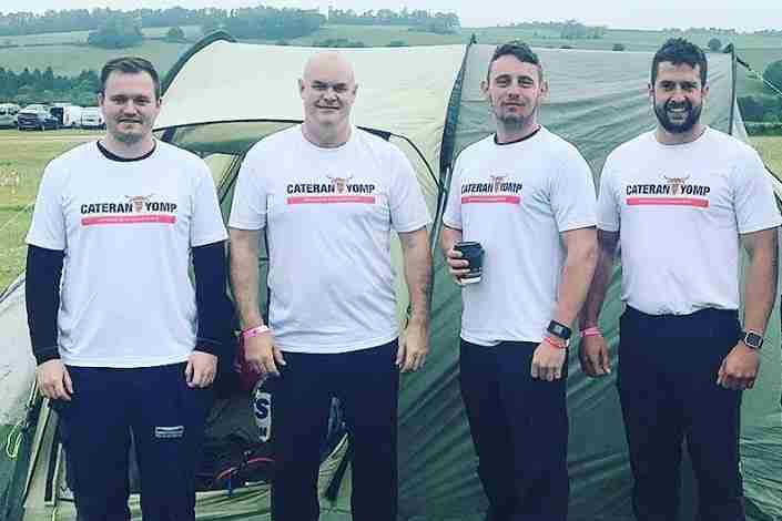 Team Thorne To March For Soldiers Charity