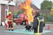 Fire Station Opens For Family Fun Day
