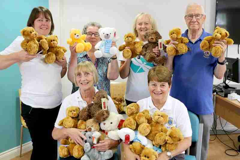 Teddy Bear Appeal Proves Roaring Success