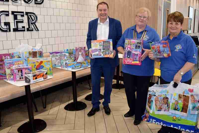 McDonald's Joins Forces With Lions For Christmas Toy Appeal