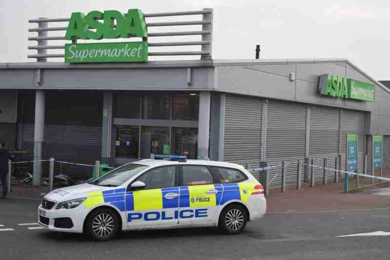 Police Investigate Supermarket Incident