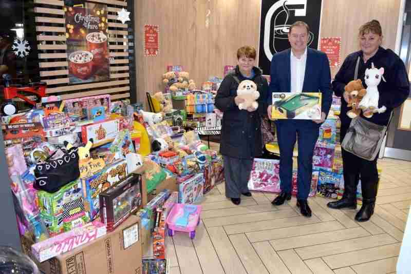 Toy Donations Help Bring Festive Cheer This Christmas