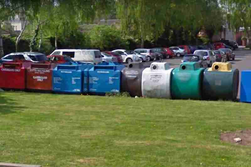 Recycling 'Bring Bank' To Be Removed