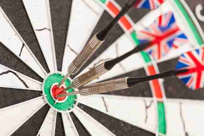 Finals Night For Local Darts League