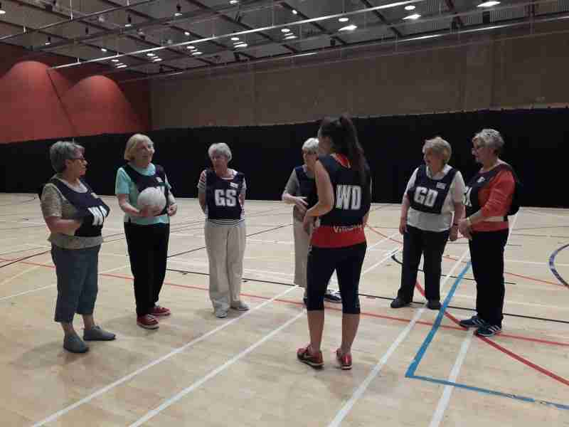 Walking Netball Coming To Moorends