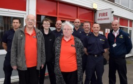 Fire Service Partners With Local Food Bank