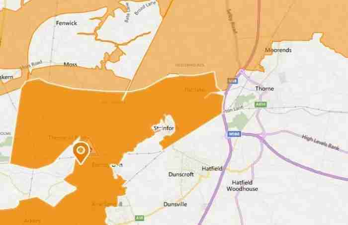 Flood Alert Issued For Lower Don Catchment