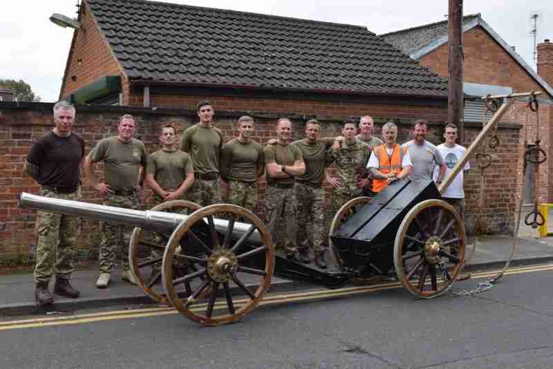 Field Gun Pull Passes Through Thorne
