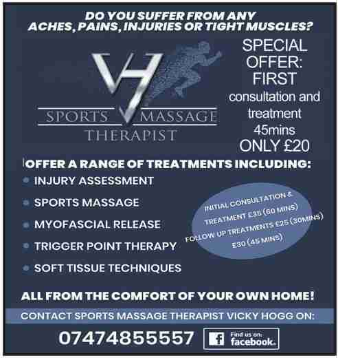 VH Sports Massge Therapist
